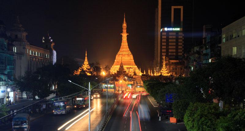 緬甸仰光一日遊