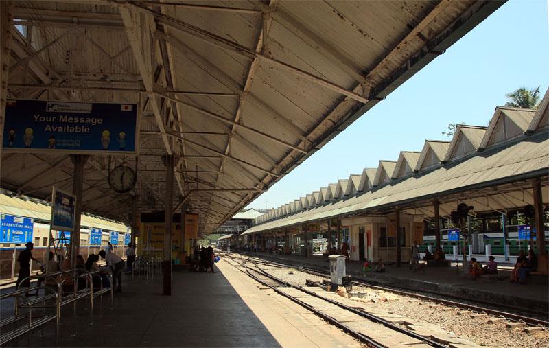 緬甸仰光環城小火車