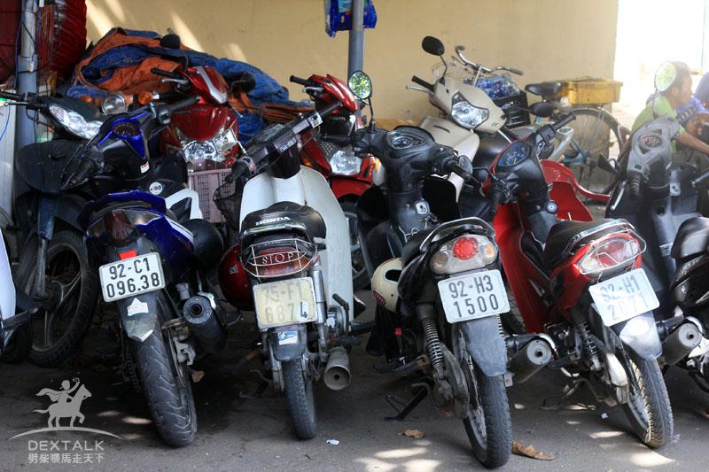 越南峴港摩托車