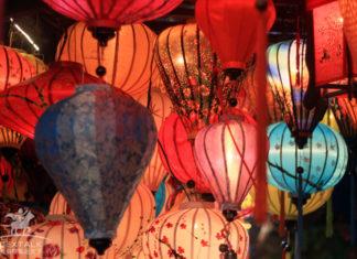 越南會安古城燈籠夜景