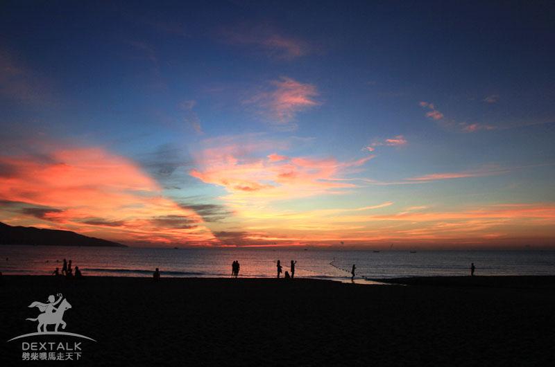 越南峴港海邊住宿看日出