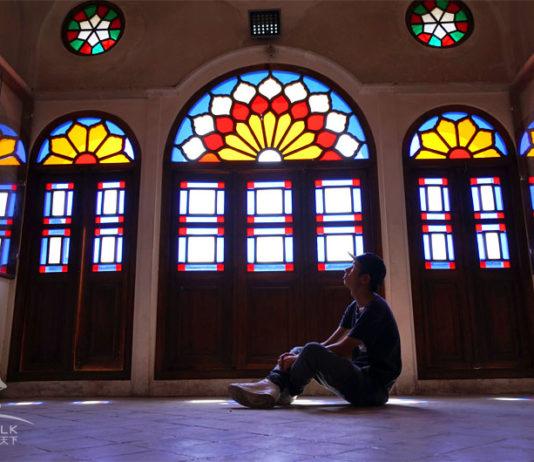 伊朗卡尚塔巴塔巴依宅院 Khan-e Tabatabei