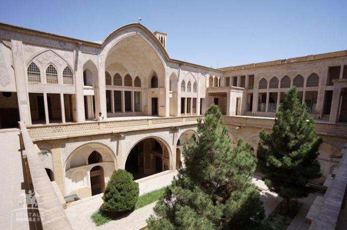 伊朗卡尚阿家大院 Abbasian Historical House