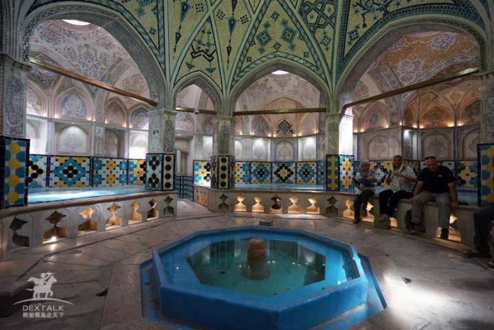 卡尚艾哈邁德蘇丹浴室 Hammam-e Sultan Mir Ahmad