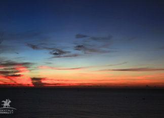 越南峴港美溪沙灘日出