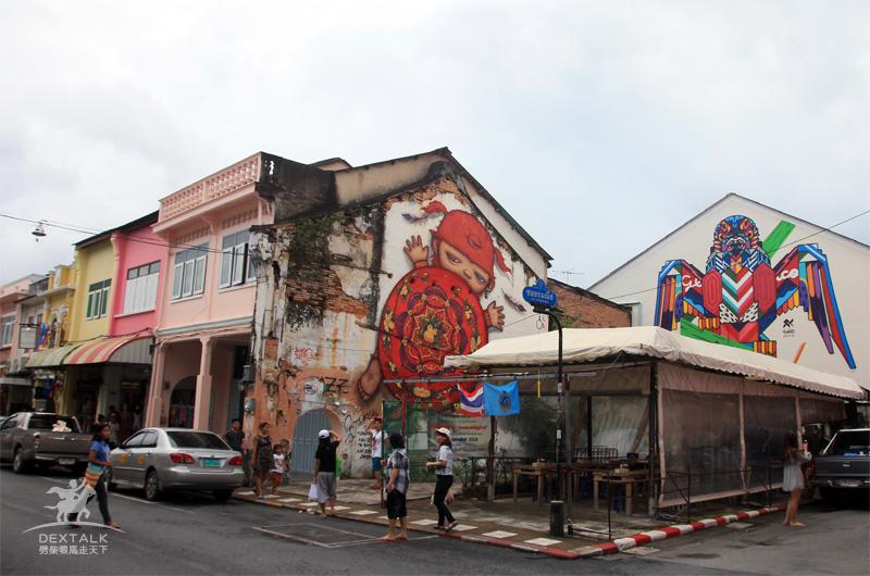 布吉鎮塗鴉街