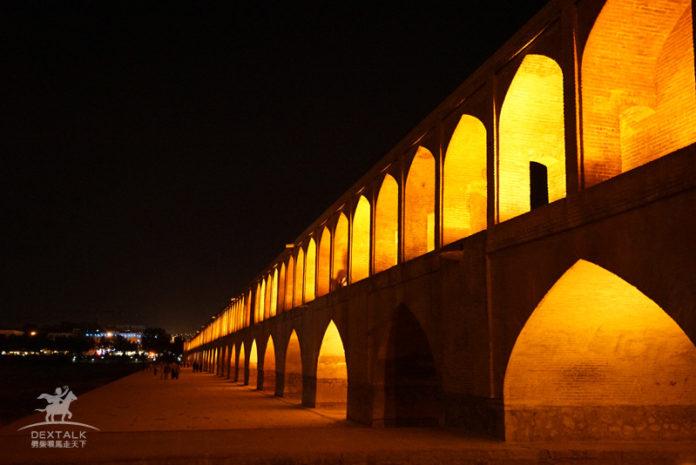 伊朗伊斯法罕三十三孔橋 Bridge of 33 Arches