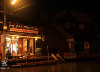 曼谷周邊一日遊安帕瓦水上市場